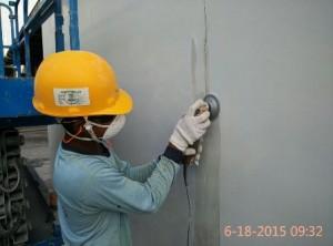 crack wall 1w