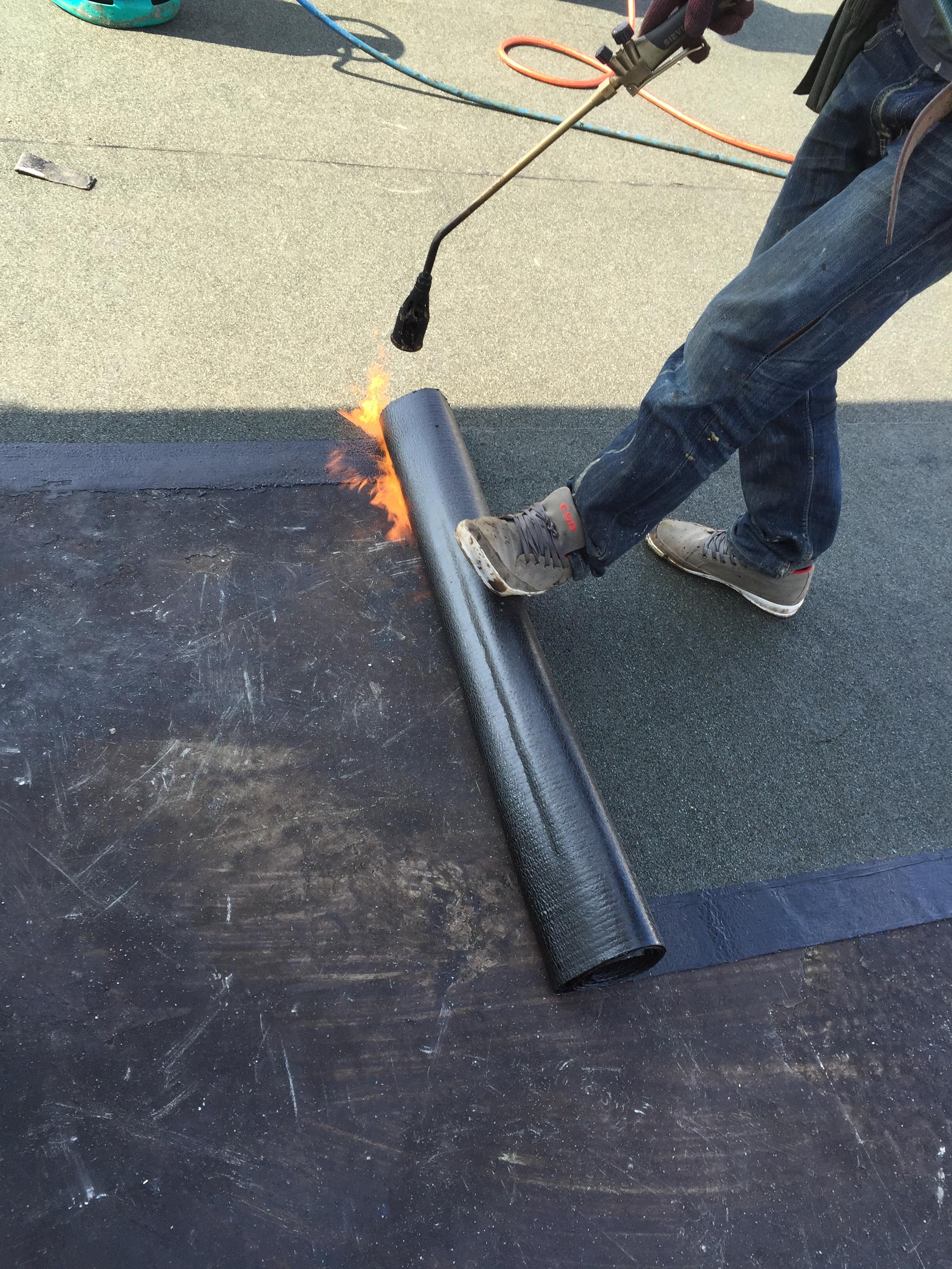 Torch Applied Waterproofing Membrane Torch On Membrane
