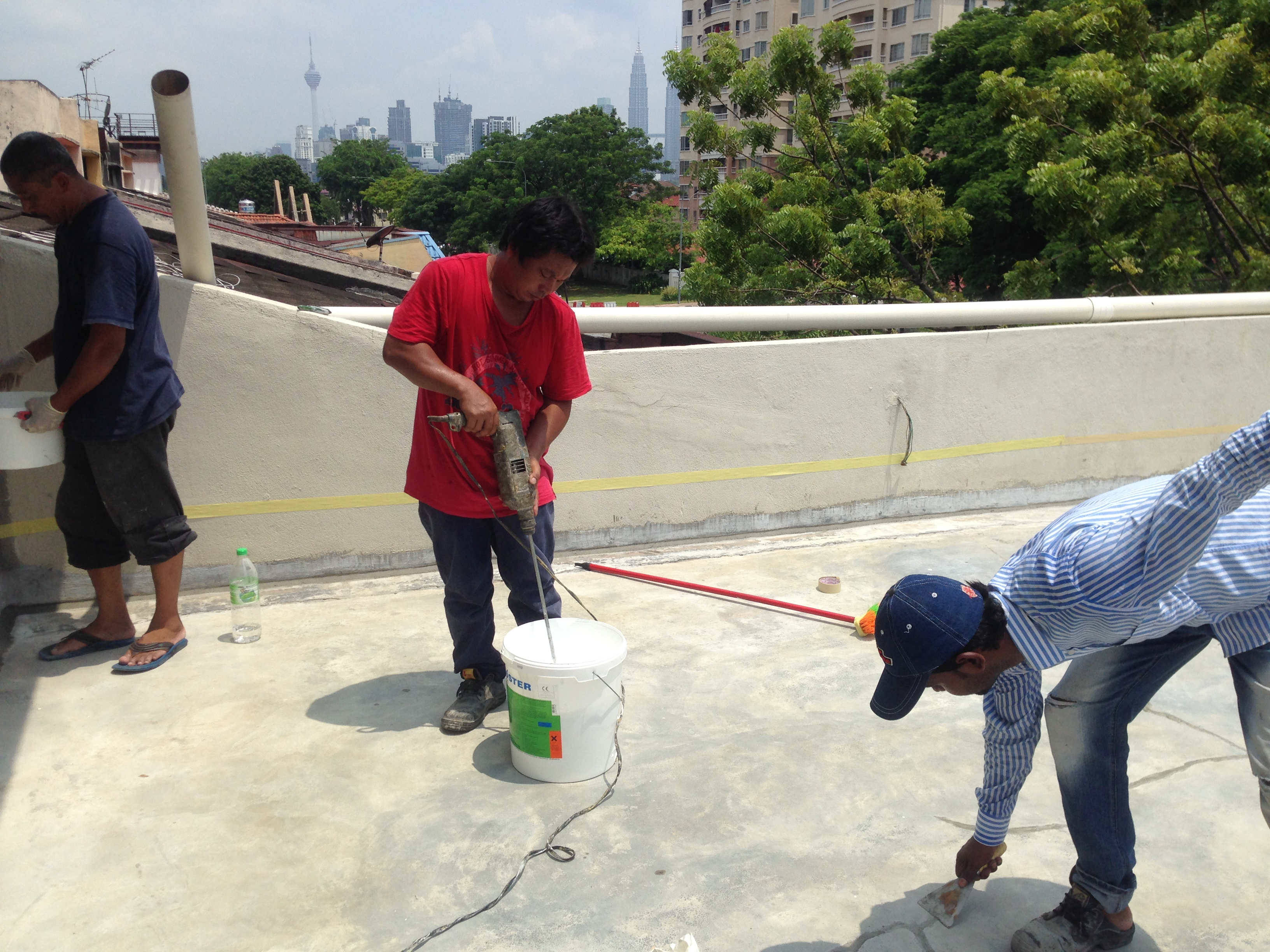 Flat Roof Waterproofing Malaysia|Specialist Contrator | Vseal