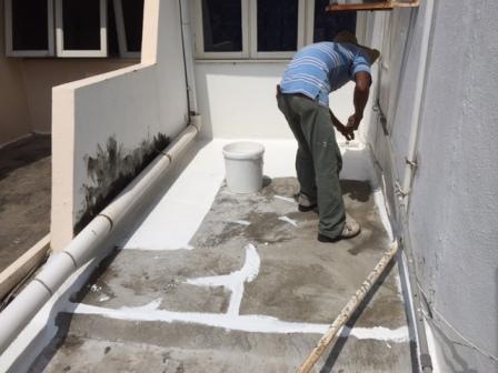 Flat Roof Leakage – Subang Jaya Terrace Residence