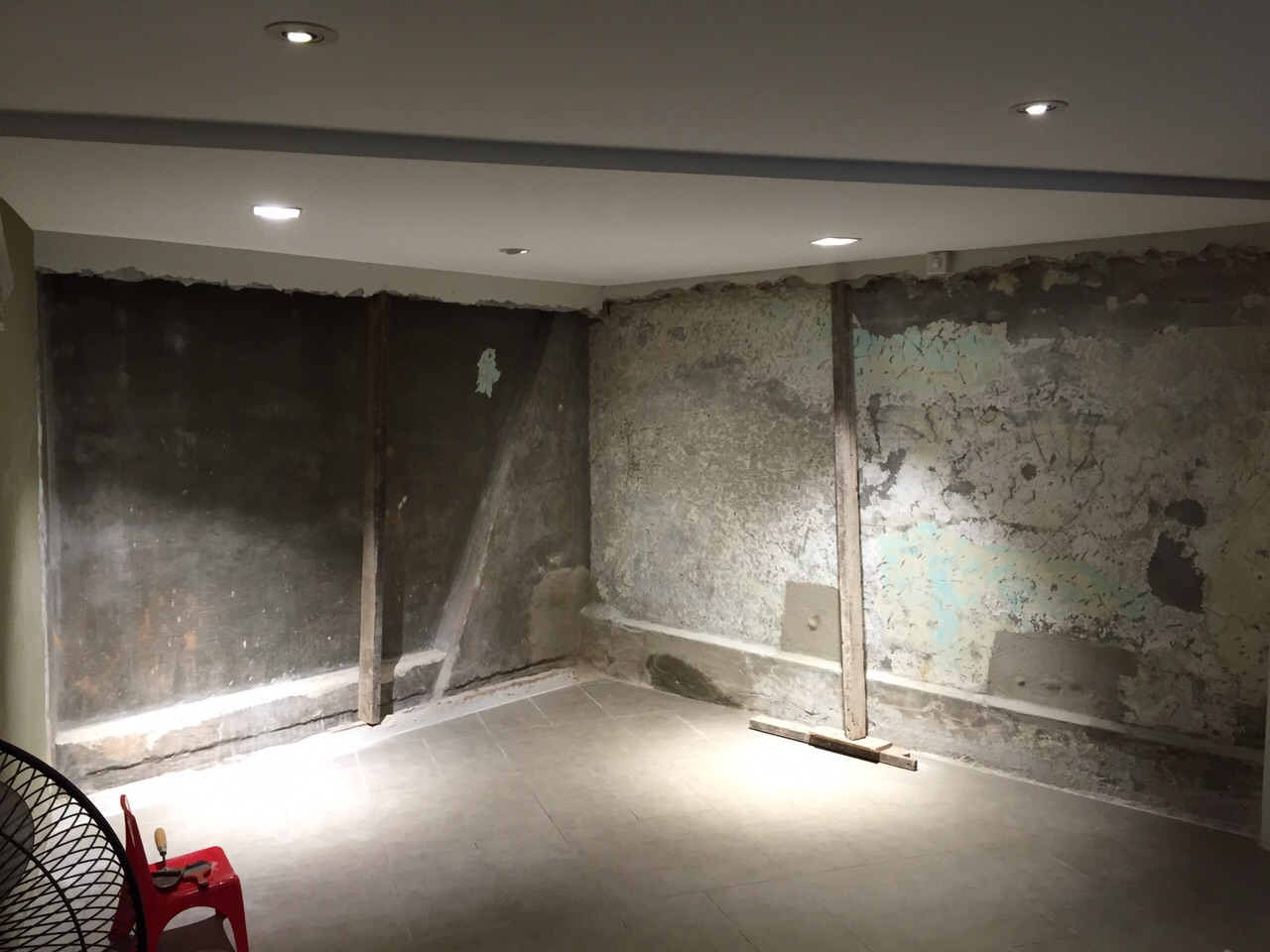Basement Wall Water Seepage