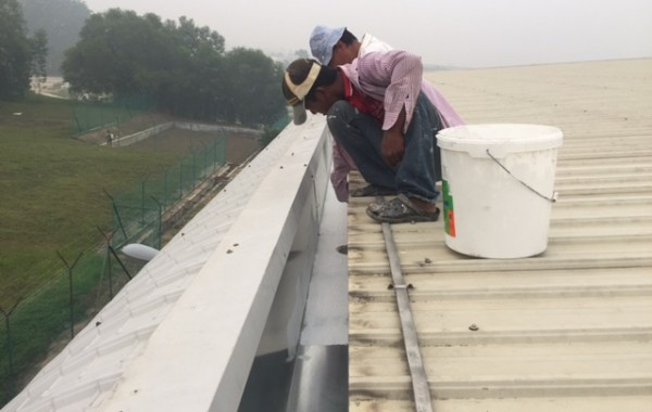 Gutter Replacement and Waterproofing