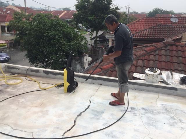 Car Porch Flat Roof Top Leakage Repair