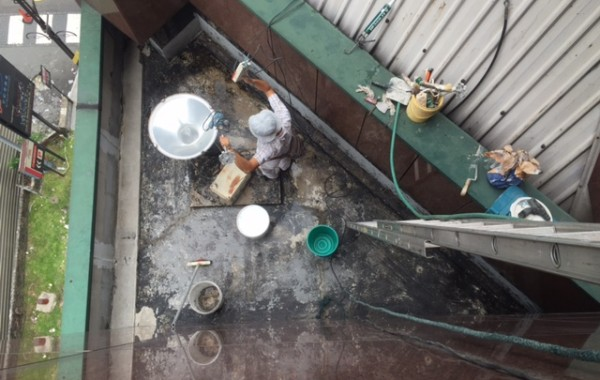 Flat Roof and Metal Roof Waterproofing Repair
