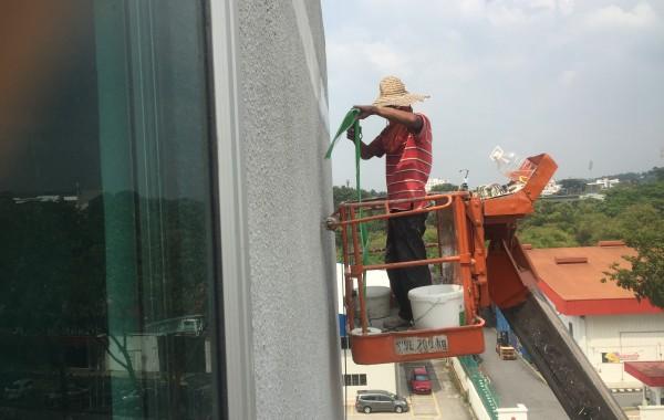 Factory Wall Cracks Repair – Shah Alam