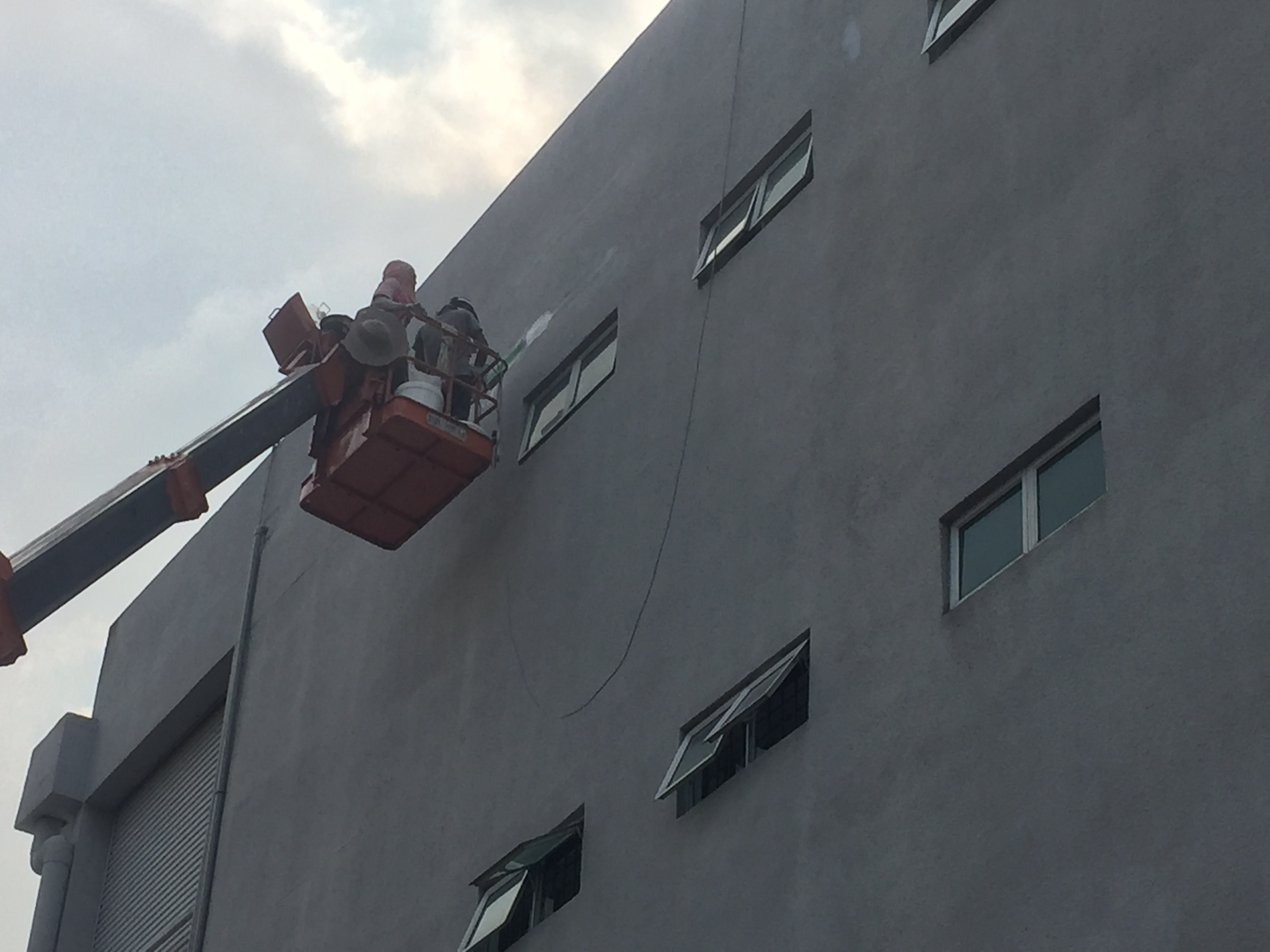 Factory Wall Cracks Repair – Shah Alam