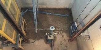 Lift Pitt Leakage Repair Work – Putrajaya Palma Residence