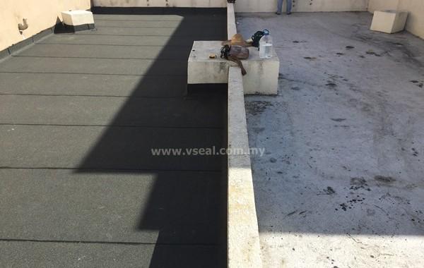 Torch On Membrane – KL Condominium