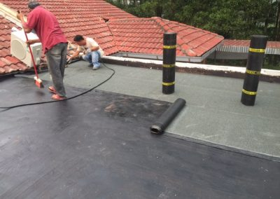 Car Porch Flat Roof Top Leakage Repair